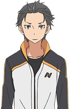 Subaru es el protagonista de la trama. Hikkomori perdido, aparece en un mundo desconocido y mágico en el que cree tener poderes, tal y como pasa en los videojuegos a los que juega. Para su desgracia, pronto descubrirá que es el mismo cacas que en la realidad. Lo cierto es que Subaru es una persona bastante triste. Se podría decir que, al principio, solo tenía la capacidad de volver de la muerte y poco más. De hecho, esto hará que la psicología del personaje cambie drásticamente y se vuelva loco. Uno de los rasgos a destacar de Subaru es su constante intento fallido de demostrarse a sí mismo que no es un inútil, poniendo en evidencia en muchas ocasiones a Emilia, la medio-elfa que le salva en varias ocasiones la vida y de la que está locamente enamorado. A veces muestra una imbecilidad impropia y detestable. Sin embargo, ese encanto de luchar hasta el final y de pasota, como la evolución a mejor que tiene a mediados de la serie, le darán un toque curioso, haciendo de él un personaje formidable, que acaba ganándose su fama y reconocimiento, a pesar de ser un ser bastante decepcionante. Hay quienes se quejaron de que no acepte a Rem y siga loquito perdido por Emilia. Desde mi punto de vista, Rem es un gran personaje con mentalidad demasiado japo. Emilia, por su lado, muy infantiloide. Y ambas tienen un dibujo excepcional, por lo que no sabría decidirme.